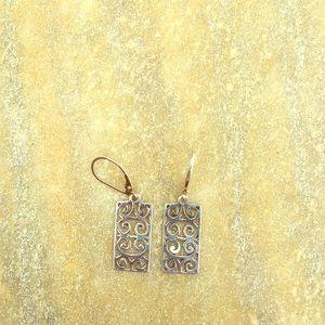 Jewelry - Sterling silver dangler earrings